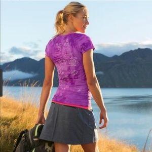 Athleta Northpeak Gray Skirt/Skort  SZ-Medium Tall